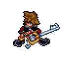 Sora (KH2) (Kingdom Hearts: Chain of Memories-Style)