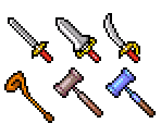 Weapons and Shields