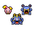 Whismur, Loudred & Exploud