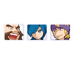 Gym Leader Mugshots