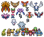 Pokémon (2nd Generation, Overworld)