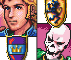 Portraits and Crests