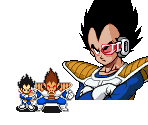 Vegeta (Scouter) and Oozaru