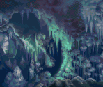 Cavern of Ice (Battle Backdrop)