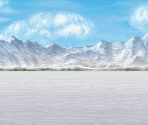 Overworld Snowfield (Battle Backdrop)