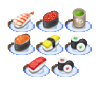 Sushi-Go-Round Objects