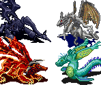 The 4 Dragon Fiends (Overworld)