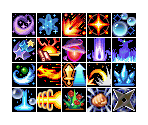Psynergy Icons