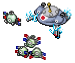 Magnemite, Magneton and Magnezone