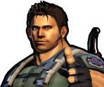 Chris Redfield's Victory Portraits