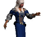 Dark Elf Peasant (Female)