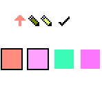 Cursors and Palettes