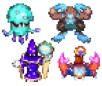 Overworld Enemies & Bosses