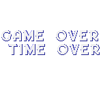 Time and Game Over Messages