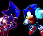Sonic CD Illustrations