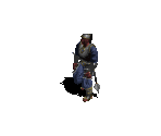 Monk in Heavy Armor with Mace