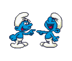 Large Smurf Icons