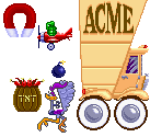 Assorted ACME Products, Tricks and Traps