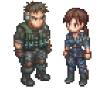 Chris Redfield & Jill Valentine