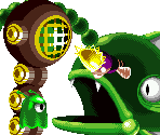 Enemies (Stage 1B: Aqua Tunnel)