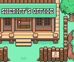 Tazmily Village Sheriff's Office (Exterior, Rustic)