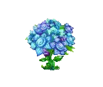 Blue Rose Tree