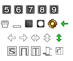 Map Creation Icons #1