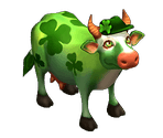 Saint Patrick's Day Cow