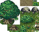 Overworld (Battle) Tileset (incomplete)