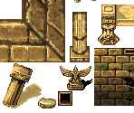 Fort Ganberg Entrance Tileset