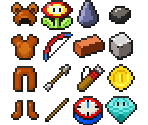 Inventory Items (Super Mario)