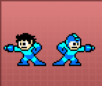 Mega Man (Helmet and Hair)