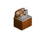 Bachman Wood Beverage Bar