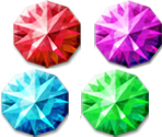 Crystal Shards and Gems