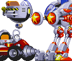 Sonic 1/CD/2 Robotnik Vehicles (Sonic 3-Style)