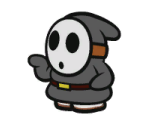 Shy Guy (Black)