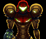 Status Screen Samus