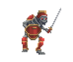 Red Skeleton Knight