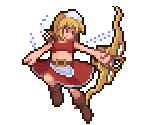 Red Archer Fairy