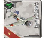 Type 0 Fighter Model 21