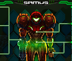 MSR388 Status Screen Samus