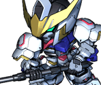 Gundam Barbatos 4th Form (Mace)