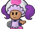 Toad Waitress