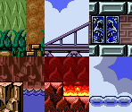 Level Tilesets South