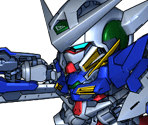 Gundam Exia (GN Sword Rifle Mode)