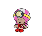 Captain Toadette (Paper Mario-Style)