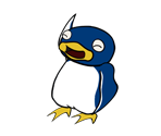 Penguins (Paper Mario-Style)