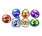 Color, Point and Hard Puyo