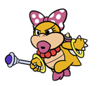 Wendy O. Koopa (Paper Mario-Style, Modern)