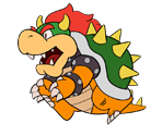 Bowser (Paper Mario-Style, 1 / 2)